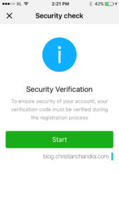 WeChat Security Verification